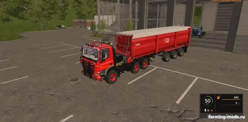 Мод Tatra Phoenix by Stevie v 1.0.0.7 для Farming Simulator 2017