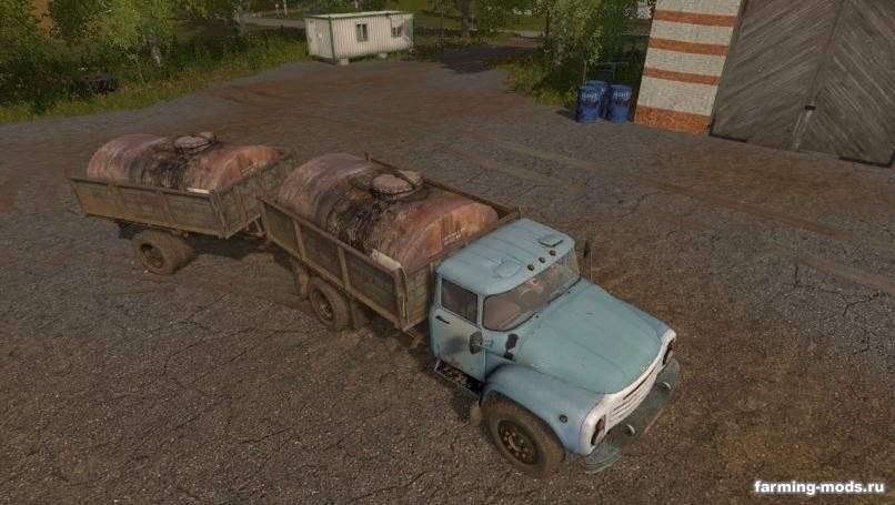 Мод ЗиЛ-130 v 1.1 Gear Box для Farming Simulator 2017