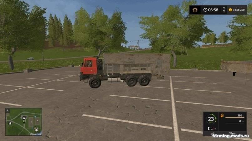 Мод Tatra 815/148 Pack PD Velka Zem v 1.0 для Farming Simulator 2017