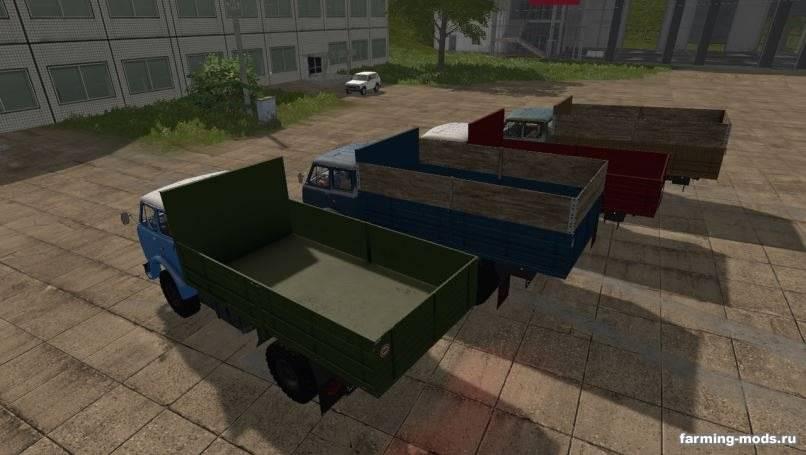 Мод МАЗ-500 Gear Box v 1.0 edit для Farming Simulator 2017
