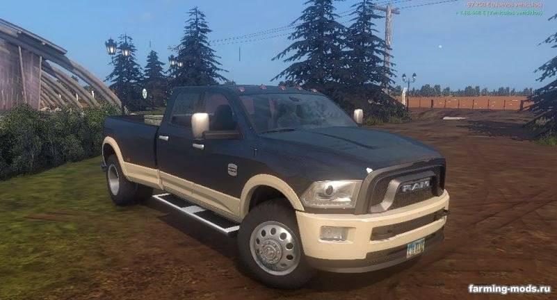 Мод Dodge Ram 3500 Dually v 1.3 Final для Farming Simulator 2017