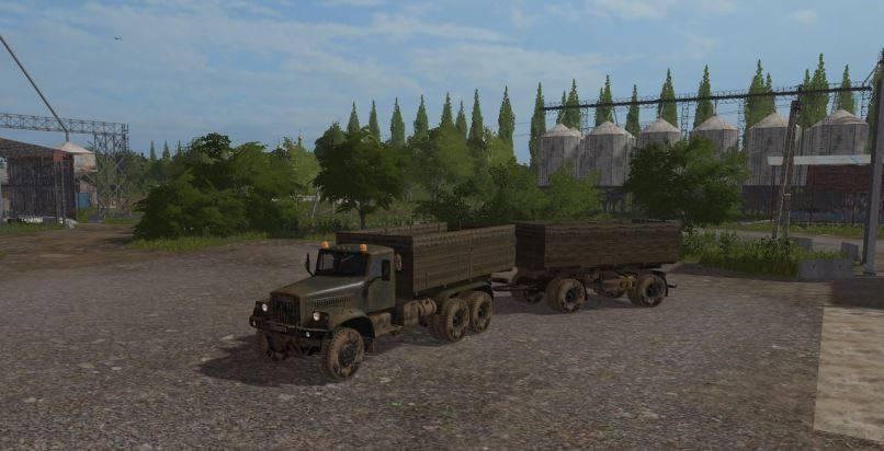 Мод Пак стартовой техники для Карты Россия v 1.2 Farming Simulator 2017