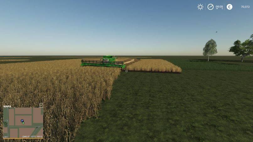 Мод Карта Clean map v 1.0 для Farming Simulator 2019