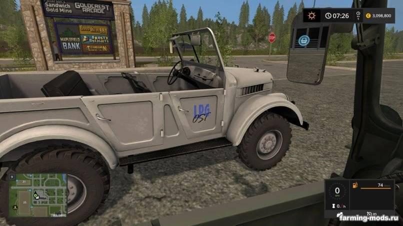 Мод Газ-69 MoreReality v 3.0 edit для Farming Simulator 2017
