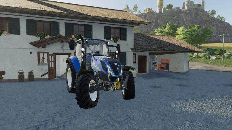 Мод New Holland T5 Chip Tunning v 1.0 для Farming Simulator 2019