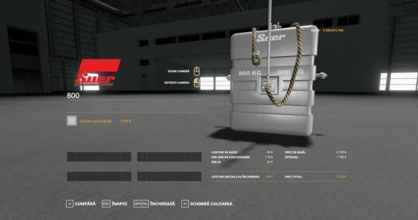 Мод Suer-800 м 1.0 для Farming Simulator 2019