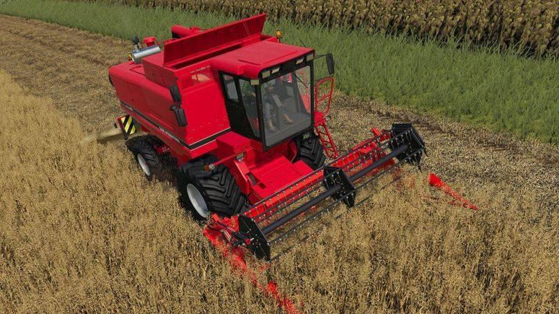 Мод CaseIH 1660 v 1.0.1.0 для Farming Simulator 2019