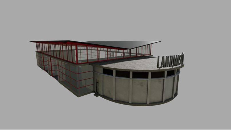 Мод Vehicle Shop Prefab v 1.0 для Farming Simulator 2019
