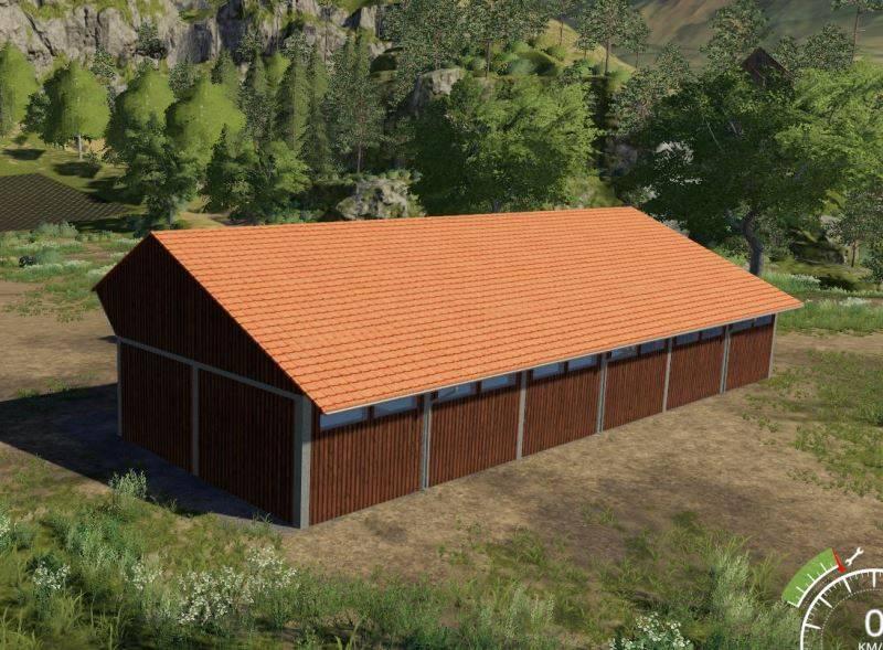 Мод Wood Shed v 1.0 для Farming Simulator 2019