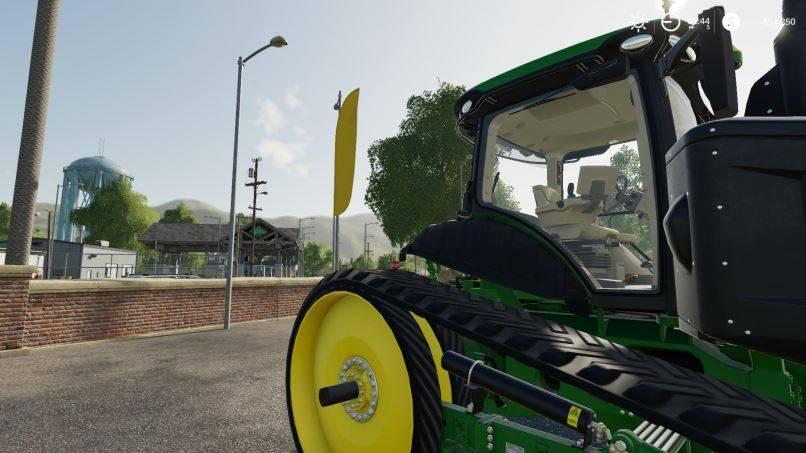 Мод John Deere 8RT v 1.0 для Farming Simulator 2019