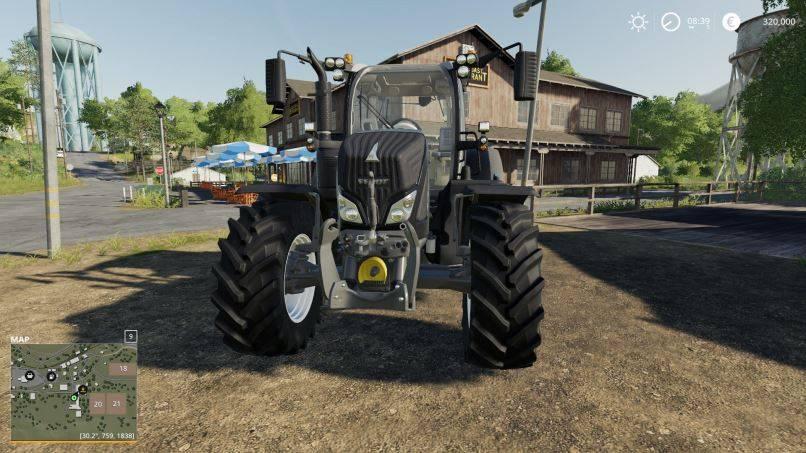 Мод Fendt 700 Vario S4 Customizable v 1.0.0.1 для Farming Simulator 2019