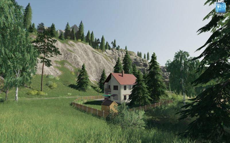 Мод Текстуры ландшафта Forgotten Plants – Landscape v 1.0 для Farming Simulator 2019