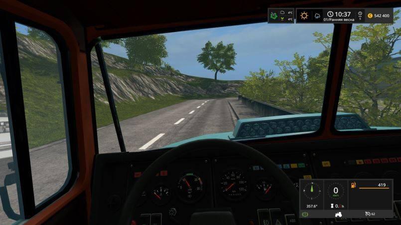 Мод КрАЗ-5133 v 1.0 для Farming Simulator 2017