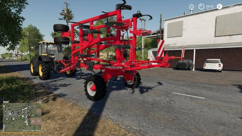 Мод Tiger 6DT v 1.0 для Farming Simulator 2019