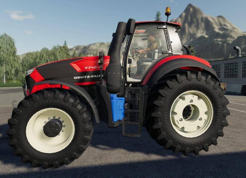 Мод Deutz Fahr Series 9 Muilticolor v 1.0.0.3 для Farming Simulator 2019