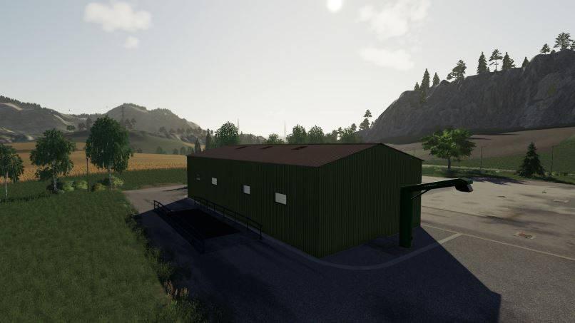 Мод Farm Silo v 1.0 для Farming Simulator 2019