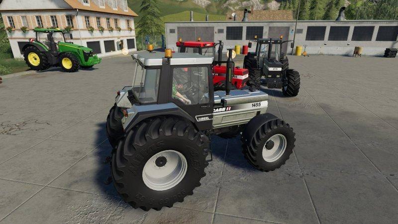 Мод Case IH 1455 v 1.0.0 для Farming Simulator 2019