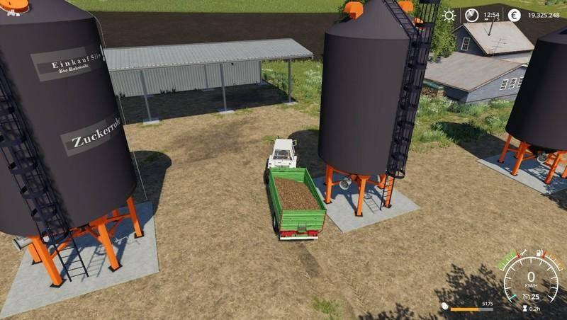 Мод Purchasing silos v 1.0 для Farming Simulator 2019