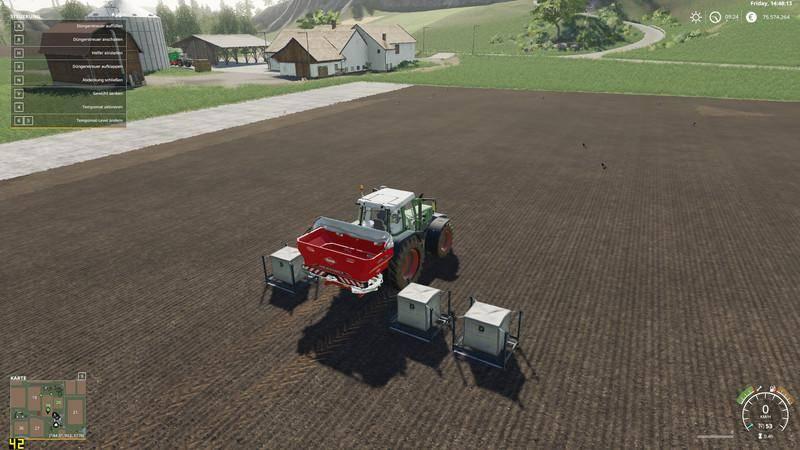 Мод Kuhn AXIS 402FL v 1.1 для Farming Simulator 2019