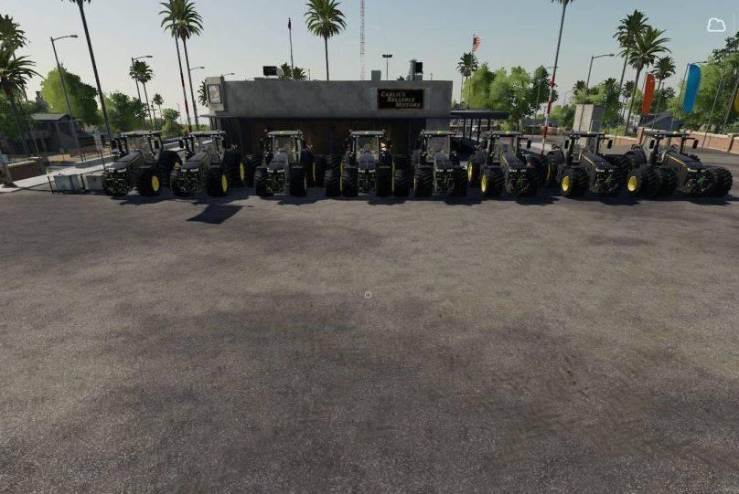 Мод John Deere Black Shadow v 1.0 для Farming Simulator 2019