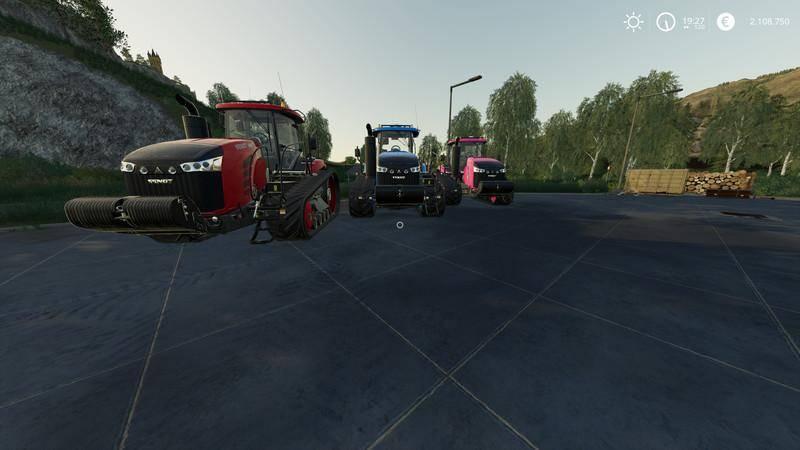 Мод Fendt MT1100 - (MultiColor) v 1.0 для Farming Simulator 2019