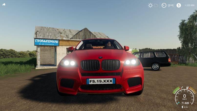 Мод BMW-X6M v 1.0 для Farming Simulator 2019