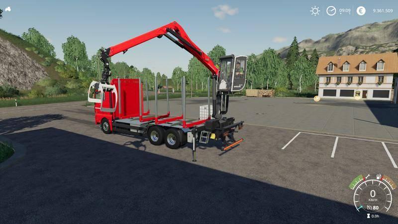 Мод MAN TGX 26.640 v 1.0 для Farming Simulator 2019