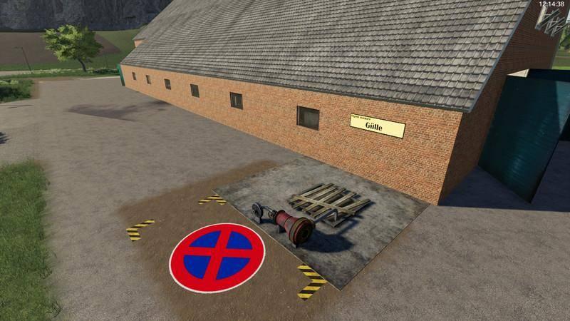 Мод Yard with cowshed and willow beta для Farming Simulator 2019