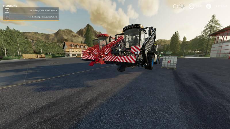 Мод Holmer TerraFelis 3 - MultiFruit - MultiColor v 1.0 для Farming Simulator 2019