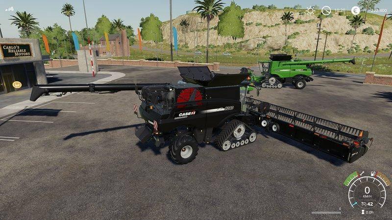Мод Case AxialFlow 9240 Set Farbwahl v 1.0 для Farming Simulator 2019