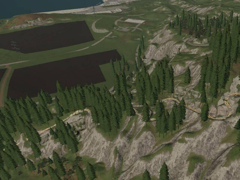 Мод Карта Felsbrunn mofifier v 2.0 для Farming Simulator 2019