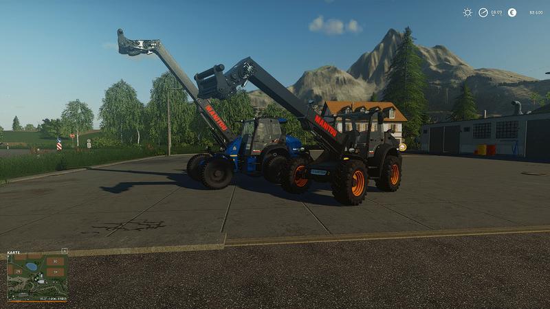 Мод Manitou MLAT 533 Telelader v 1.0.4 для Farming Simulator 2019