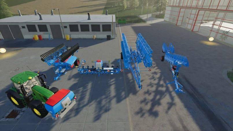 Мод Lemken modpack v 1.0 для Farming Simulator 2019