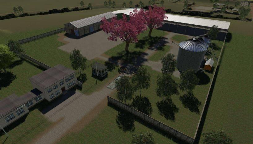 Мод Карта Балдейкино Edit By Tomi098 v 2.0 Updated для Farming Simulator 2019