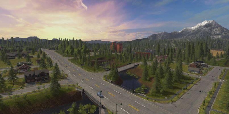 Мод Goldcrest Valley v 1.2 для Farming Simulator 2019