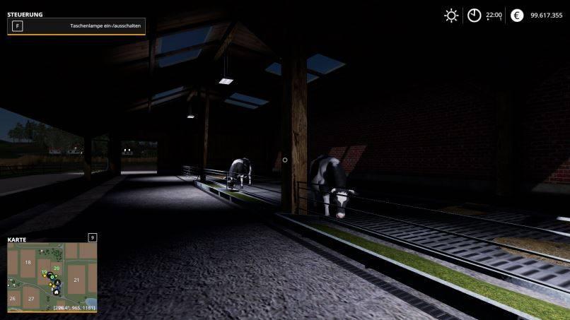 Мод Молочная ферма v 1.0.01 для Farming Simulator 2019