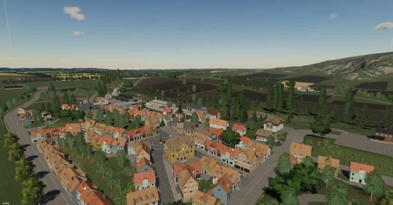 Мод Карта Felsbrunn Umbau v 1.1 для Farming Simulator 2019