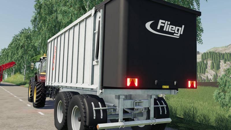 Мод Fliegl TMK 266 Bull v 1.0 для Farming Simulator 2017
