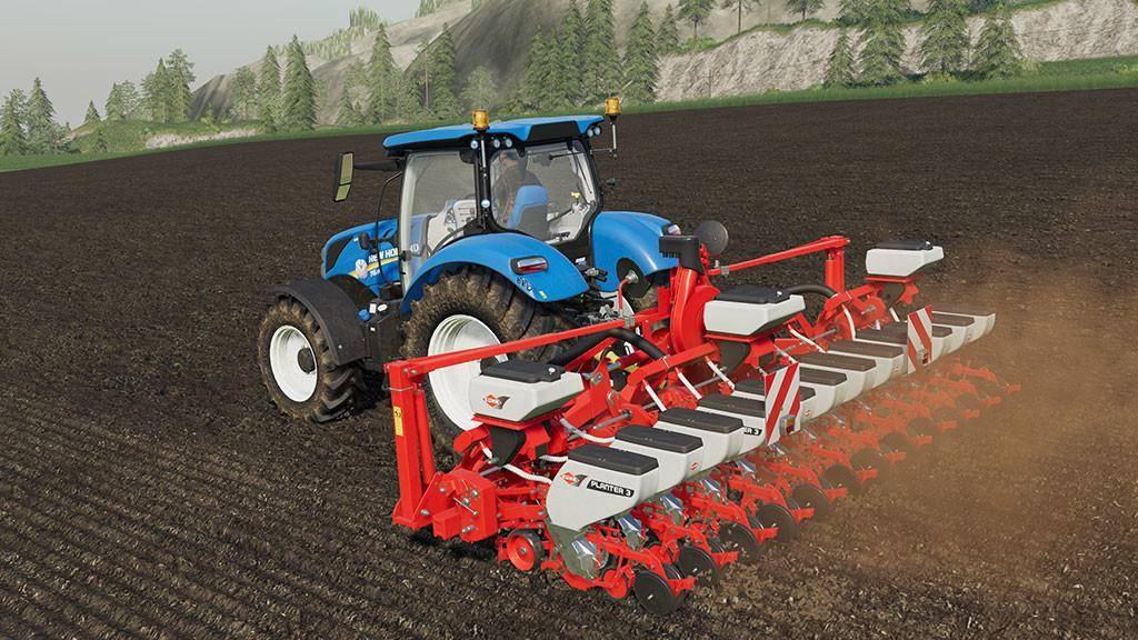 Мод Kuhn Planter 3R 12 v 1.0 для Farming Simulator 2019