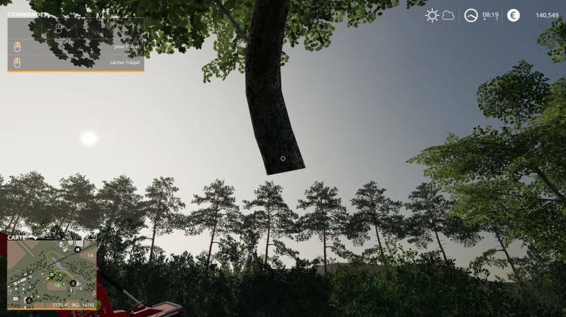 Мод Скрипт Mega Strength and pickable distance v 0.0.0.1 для Farming Simulator 2019