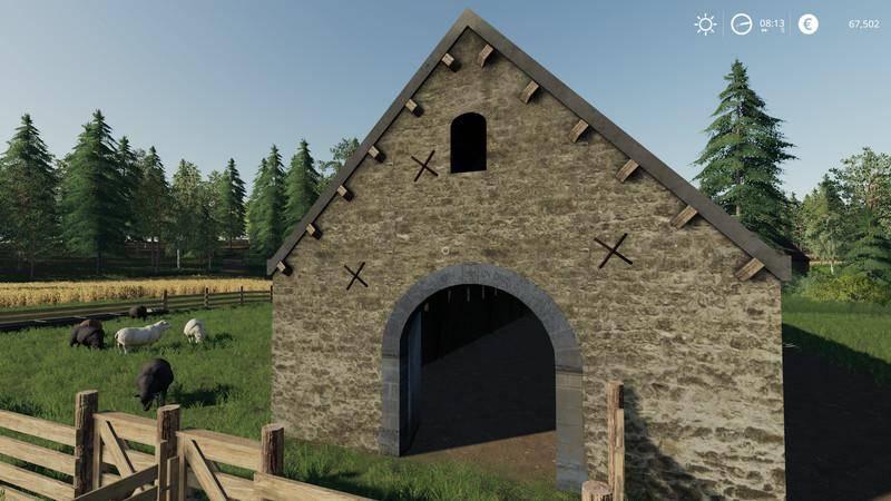 Мод Овчарня v 1.0 для Farming Simulator 2019