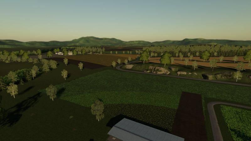 Мод Карта Bettingen Map v 0.9.9.0 для Farming Simulator 2019