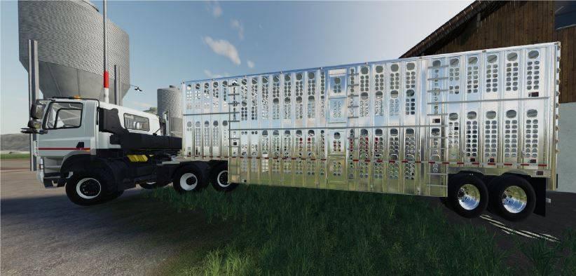 Мод Silverstar Horse float v 1.0 для Farming Simulator 2019