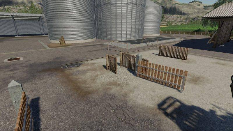 Мод Gates Pleacable v 1.0 для Farming Simulator 2019