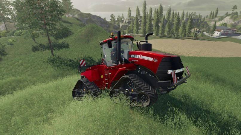 Мод SS CaseIH quadtrack metallic multicolor v 1.0 для Farming Simulator 2019
