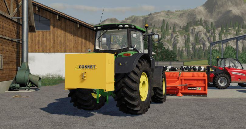 Мод Cosnet Weight v 1.0 для Farming Simulator 2019