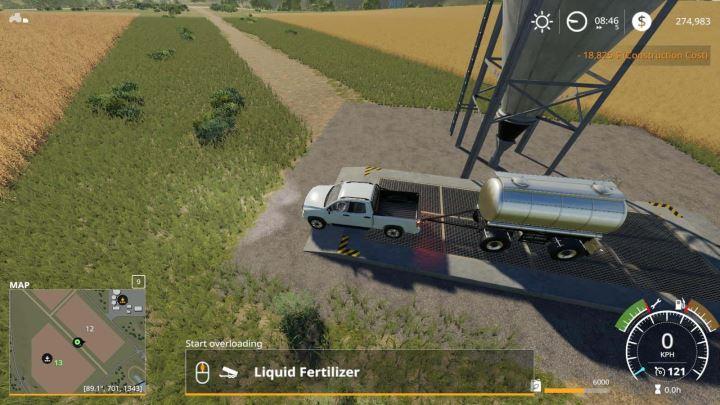 Мод MKS8 Chemical Tank v 1.0 для Farming Simulator 2019