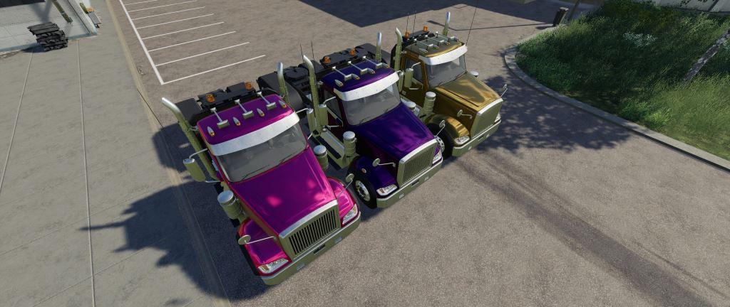 Мод Trucks Gamling Edition v 1.0.0.2 для Farming Simulator 2019