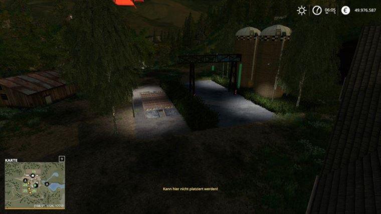 Мод Unloading Station with Deko v 1.0 для Farming Simulator 2019