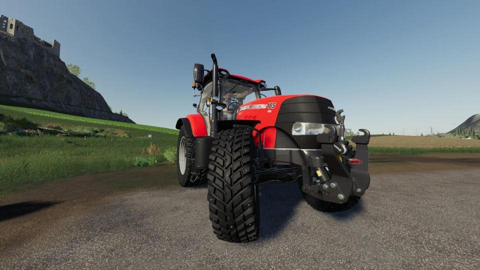 Мод Studded Nokian Tires CaseIH Puma Series v 1.0 для Farming Simulator 2019
